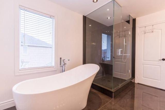Bathroom Design Stand Shower Tub