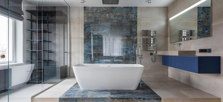 Modern Bathroom Space Renovation Toronto